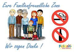 Familienfreundliche Zone
