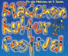 Buntes Logo des Mädchenkulturfestivals