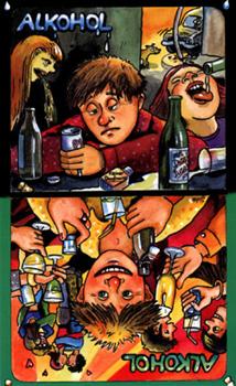 """Infocard """"Alkohol"""""""