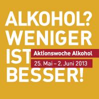 Alkohol? Weniger ist besser!
