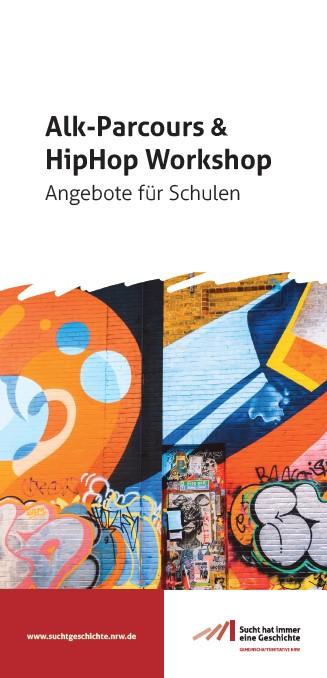 Titel Flyer ALK-Parcours HipHop für Schulen