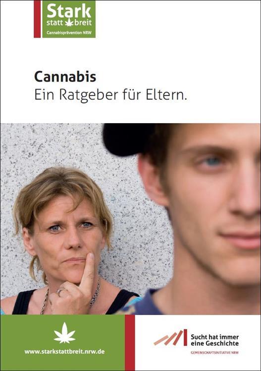 Bild Broschüre Cannabis Eltern