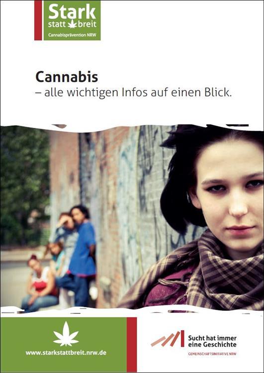 Bild Broschüre Cannabis Jugendliche