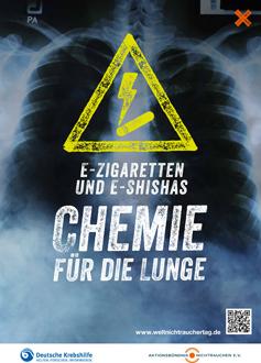 Plakat zum Weltnichtrauchertag des Aktionsbündnis Nichtrauchen e.V.