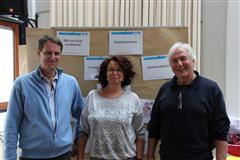 Trainerteam der FREUNDE-Trainerschulung Oktober 2016, Bonn: Heribert Holzinger, Susanne Wittenberg, Dietrich Höcker (v.l.n.r.)