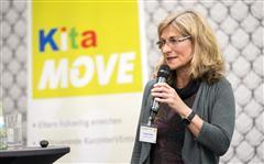 Angelika Fiedler über die Entwicklung von Kita-MOVE und die bundesweite Verbreitung