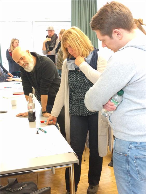 Diskussion im Workshop - Kleve Arbeitstagung Prophylaxefachkräfte NRW