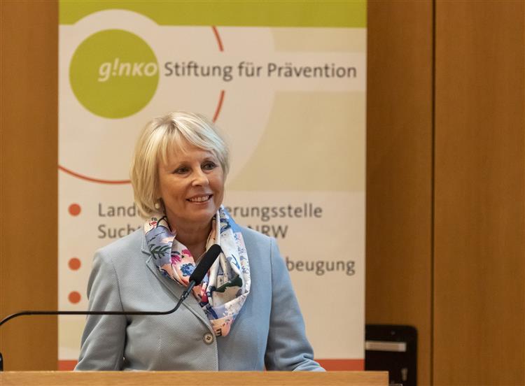 Andrea Laubenstein, Kuratorium der ginko Stiftung für Prävention