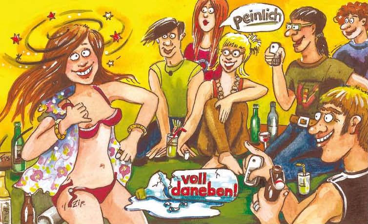 """Infocard  für Mädchen """"Blamage"""""""